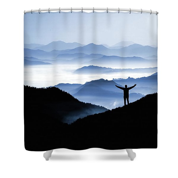 Adoration Of Natural Beauty Shower Curtain