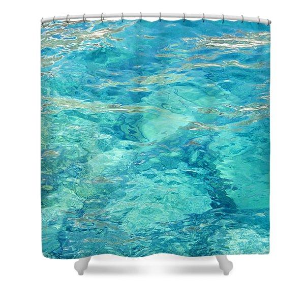 Aegean Bliss Shower Curtain
