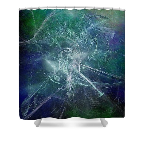 Aeon Of The Celestials Shower Curtain