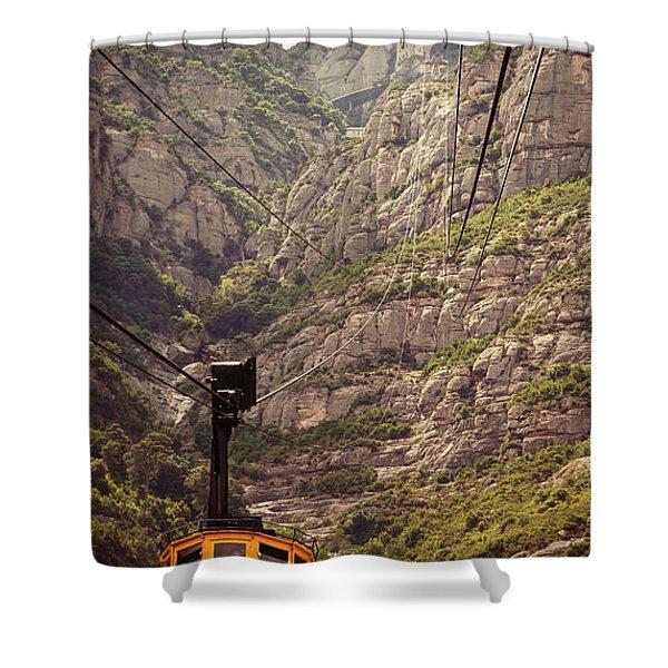 Aeri De Montserrat Shower Curtain