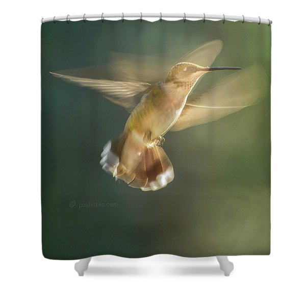 Aerial Dancing.... Shower Curtain