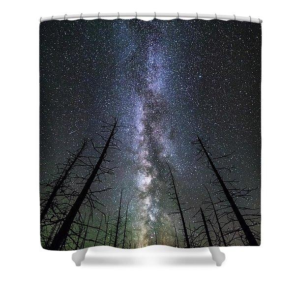 Aethereus Shower Curtain