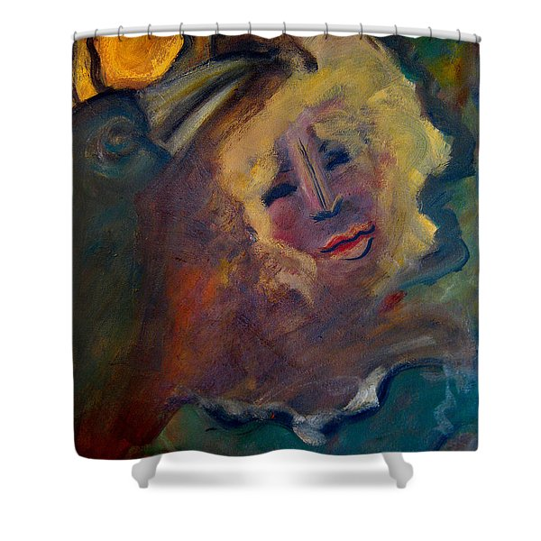 Affection Of Raven Shower Curtain