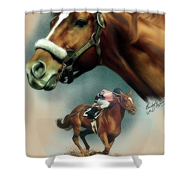 Affirmed With Name Decor Shower Curtain