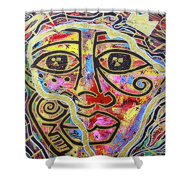 Africa Center Of The World Shower Curtain