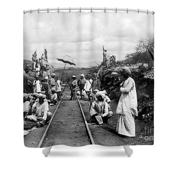 Africa: Railway, C1905 Shower Curtain