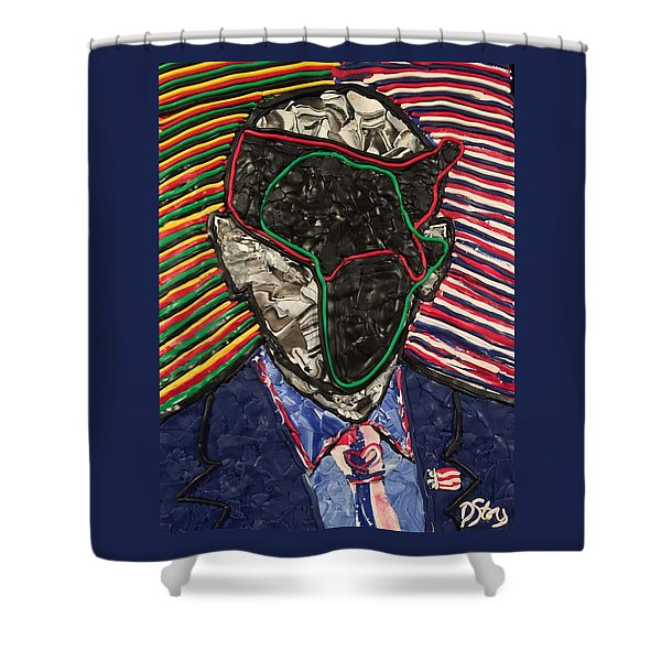 African American History Shower Curtain