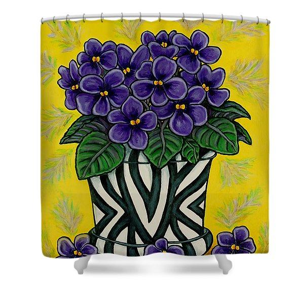 African Queen Shower Curtain