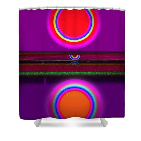African Sunset Shower Curtain