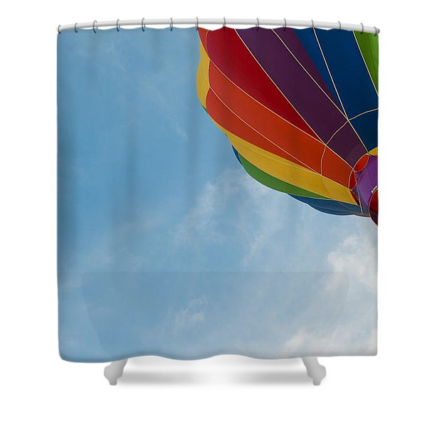 After Liftoff Shower Curtain