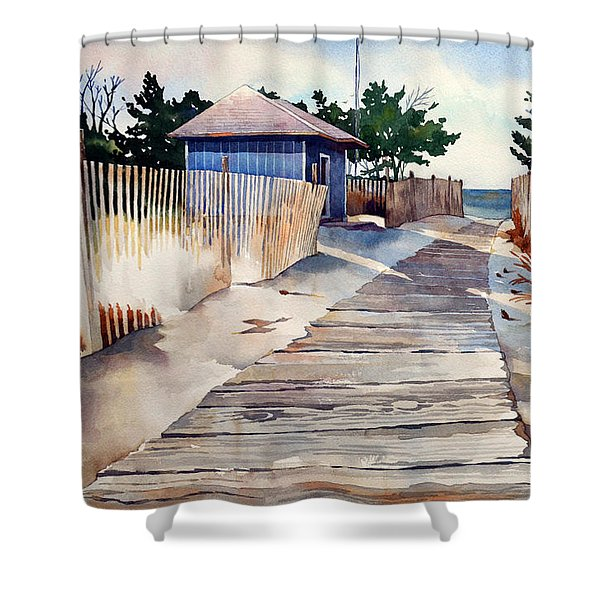 After The Boys Of Summer Shower Curtain