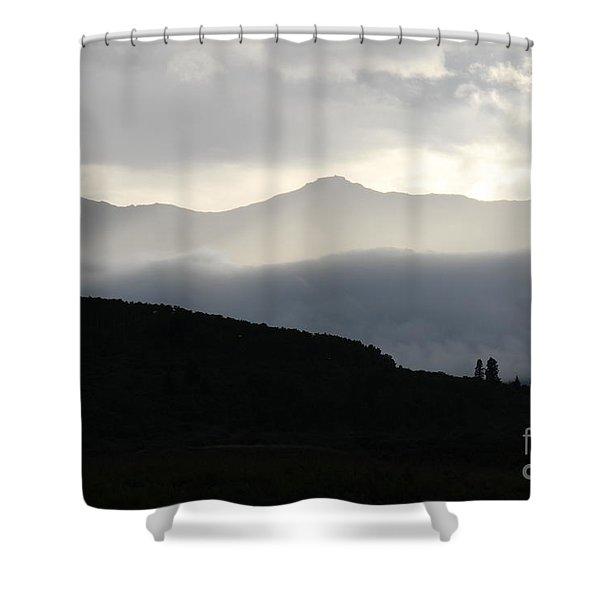 The Quiet Spirits Shower Curtain