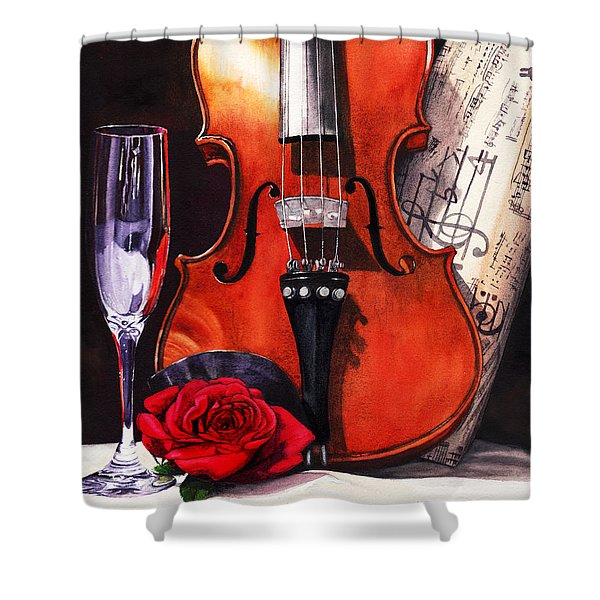 After The Serenade Shower Curtain