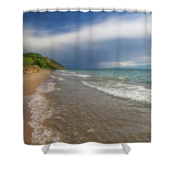 Shower Curtain featuring the photograph After The Storm by Heather Kenward