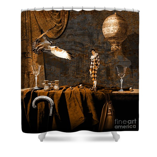 After Theater Shower Curtain