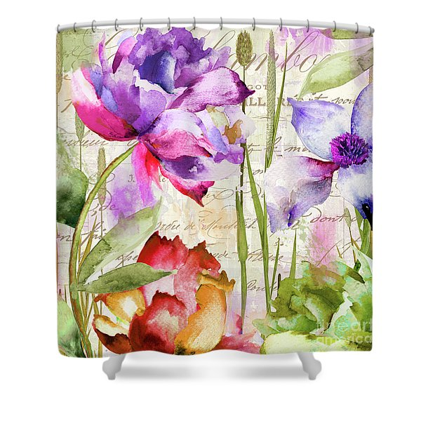 Afterglow I Shower Curtain