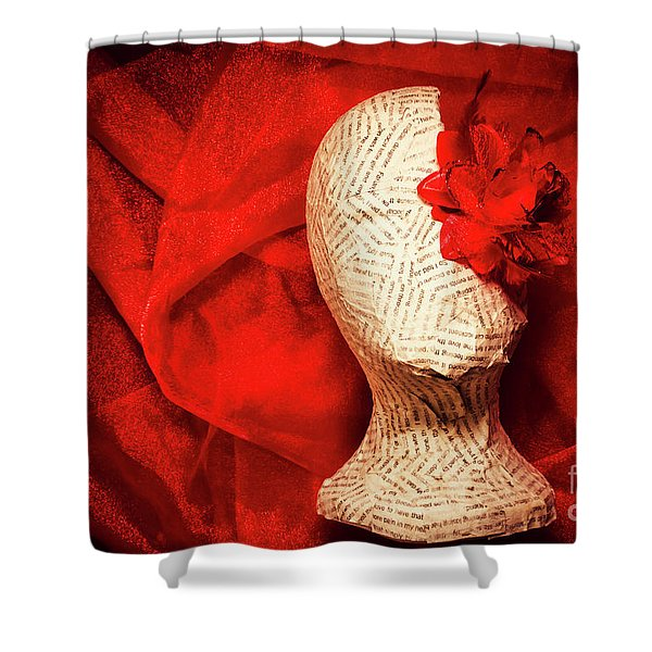 Afterlife Chronicles Shower Curtain