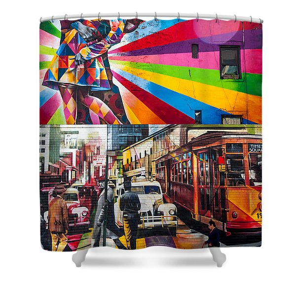 Afternoon In Chelsea Shower Curtain