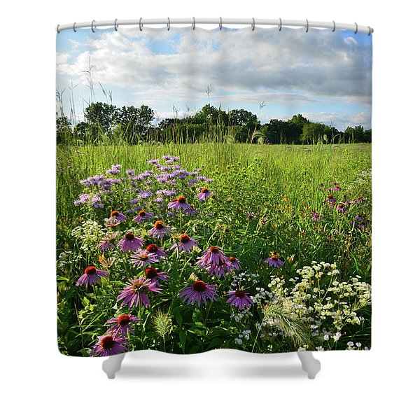 Afternoon In Moraine Hills State Park Shower Curtain