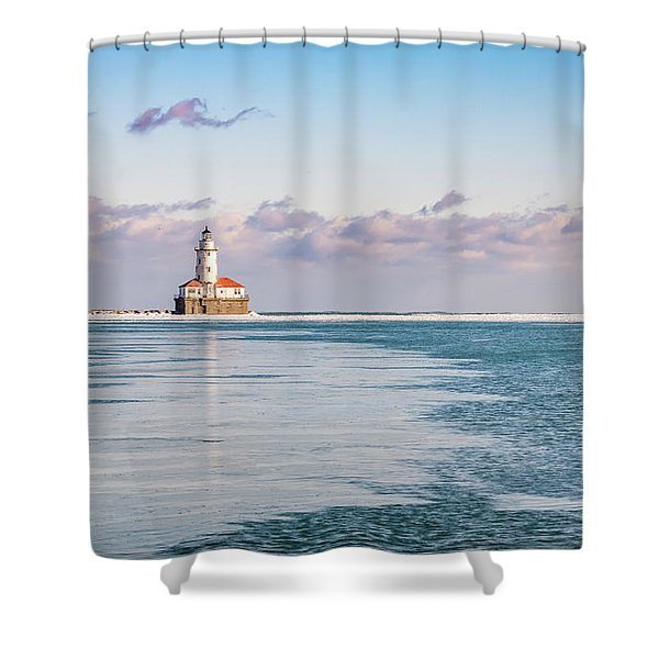 Afternoon In The Harbour Shower Curtain