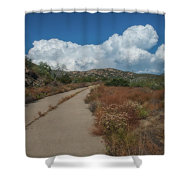 Afternoon, Old Road Shower Curtain