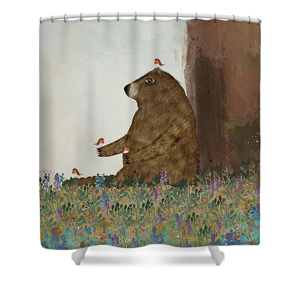 Afternoon Song Shower Curtain