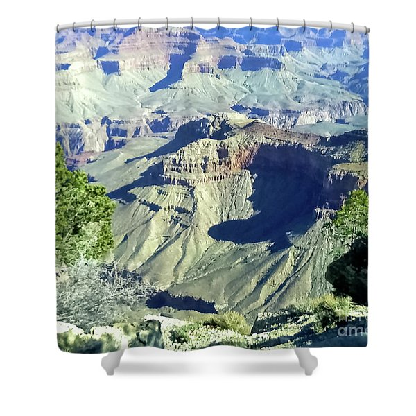 Afternoon View Grand Canyon Shower Curtain