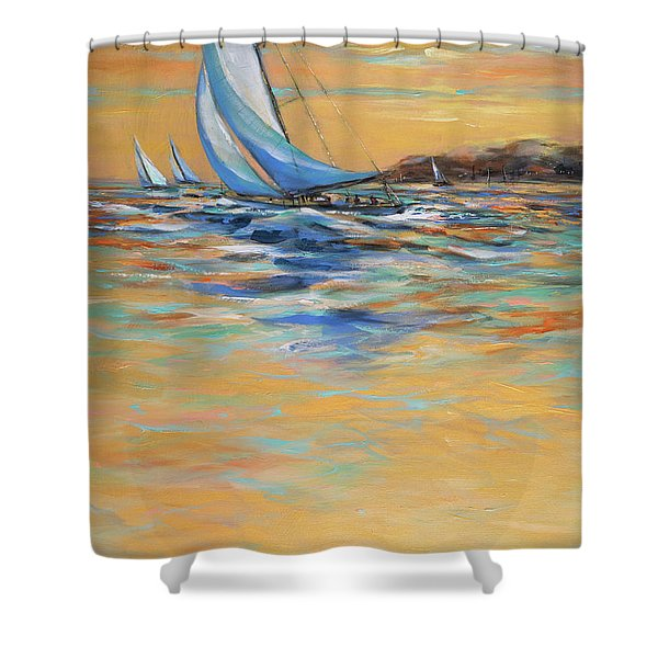 Afternoon Winds Shower Curtain
