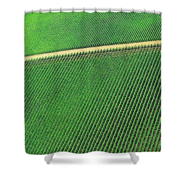 Ag Road Shower Curtain