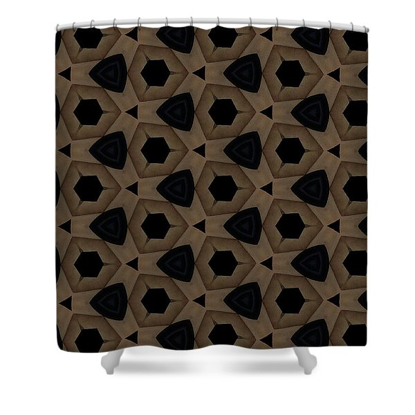 Agate Dimensions Shower Curtain