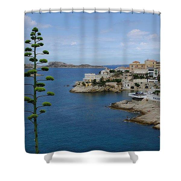 Agave At Corniche Shower Curtain