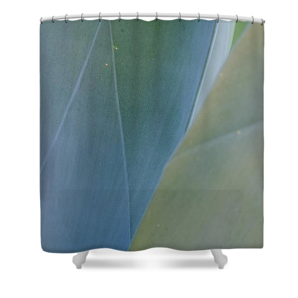 Agave Imprints Shower Curtain