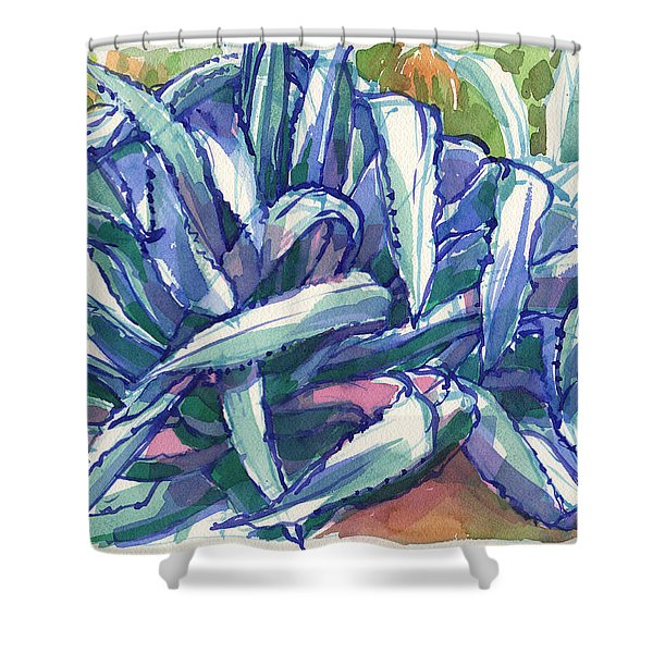 Agave Tangle Shower Curtain