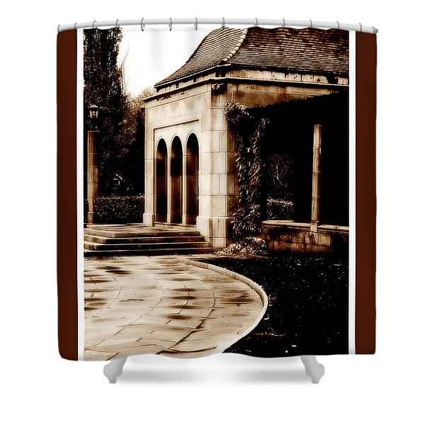 Aged By Time Shower Curtain