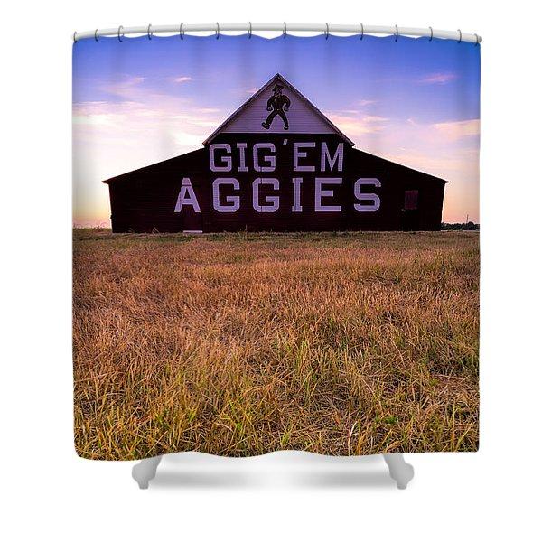 Aggie Land Shower Curtain