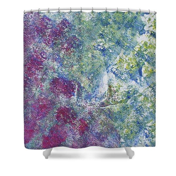 Aggrandized Shower Curtain