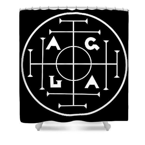 Agla Lucky Charm Shower Curtain