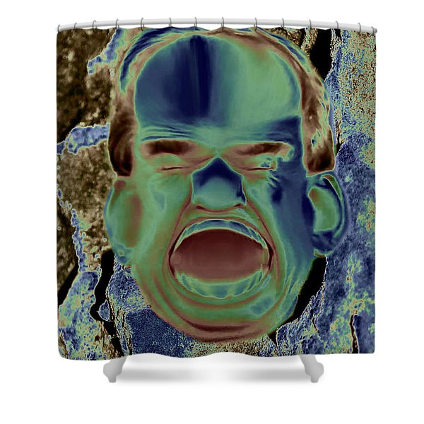 Agony And Misery Shower Curtain