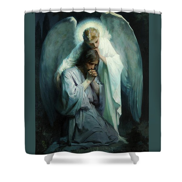 Agony In The Garden Shower Curtain