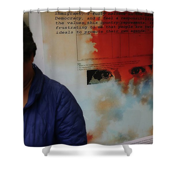 Agreed To Agree Shower Curtain