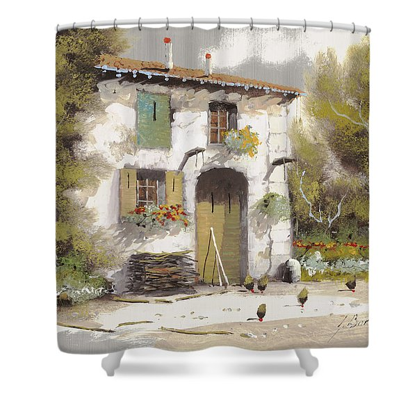 AIA Shower Curtain