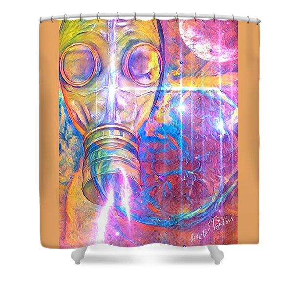 Air Bugs Shower Curtain