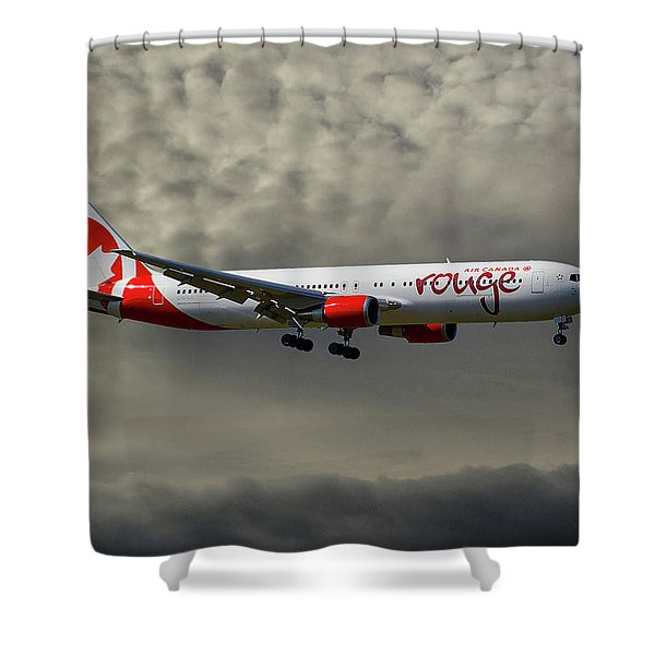Air Canada Rouge Boeing 767-35h Shower Curtain
