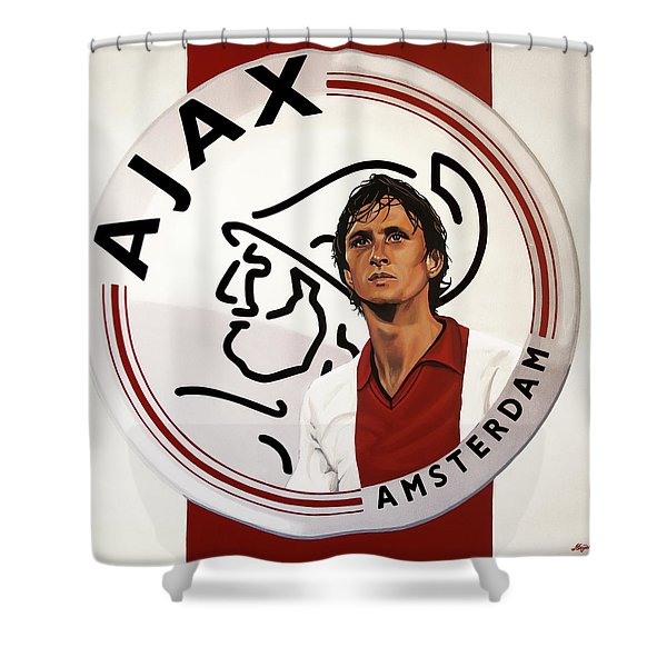 Ajax Amsterdam Painting Shower Curtain