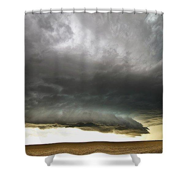 Akron Co Beast Shower Curtain
