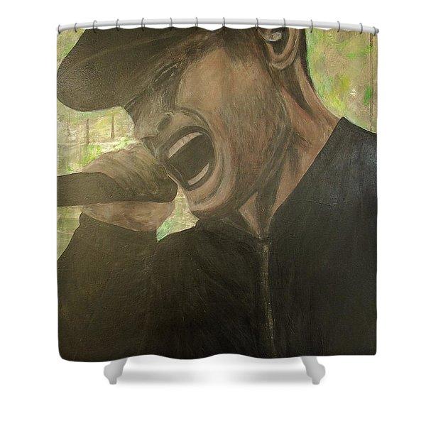 Al Barr Shower Curtain