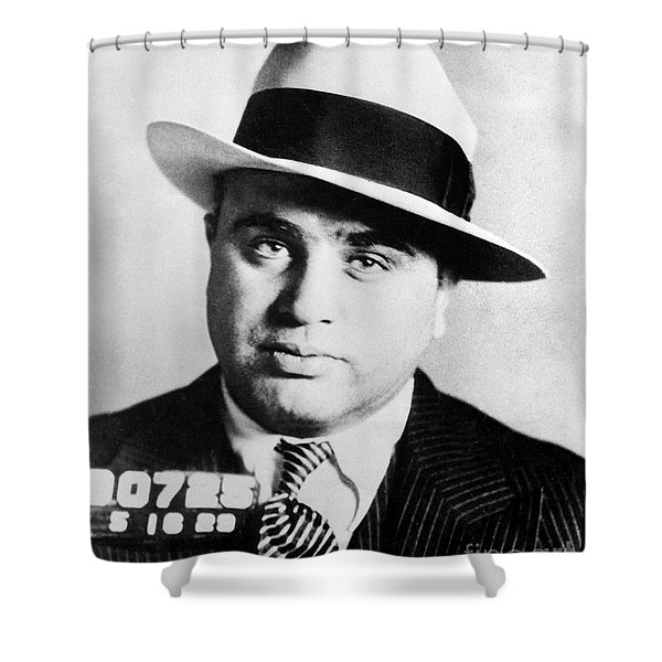 Al Capone Mugsot Shower Curtain