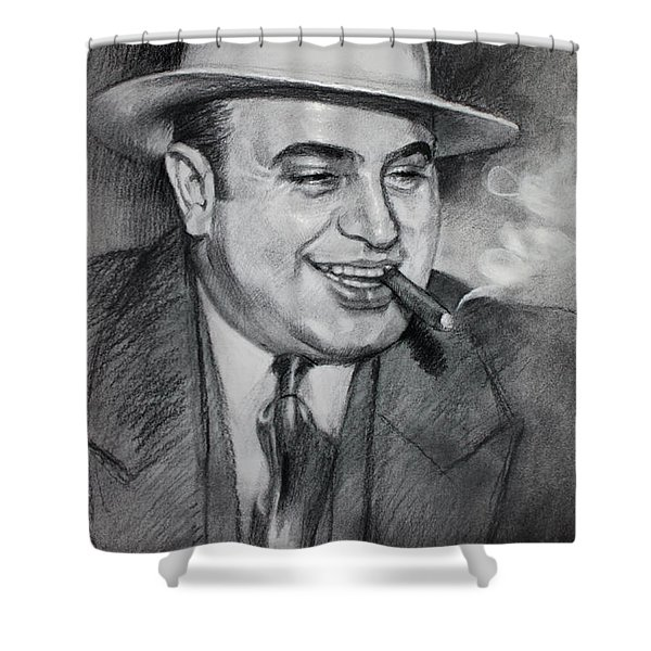 Al Capone  Shower Curtain