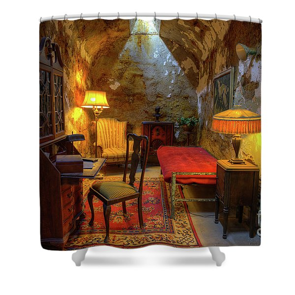 Al Capones Jail Cell Shower Curtain