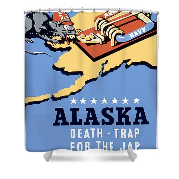 Alaska Death Trap Shower Curtain